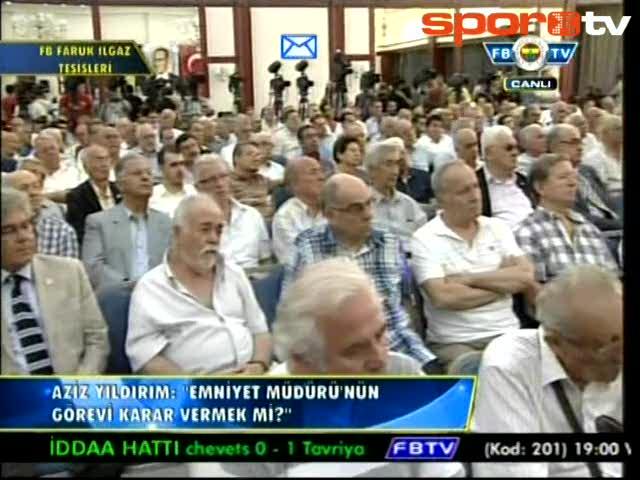 Aziz Yıldırım: Galatasaray prim göndermiş