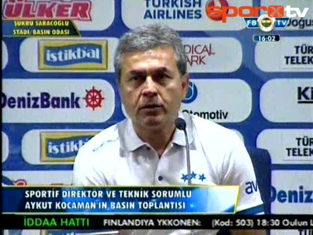Aykut Kocaman: Şampiyonlar Ligi'ne gitmemiz engellendi