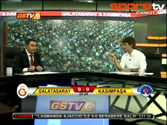 Umut attı! GSTV Spikeri coştu!