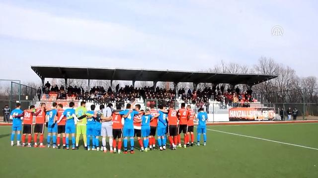 Zeytin Dalı Harekatı için maç öncesi dua